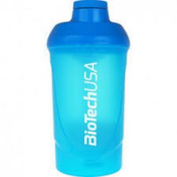 Шейкер BiotechUSA Wave синий - 600 мл.
